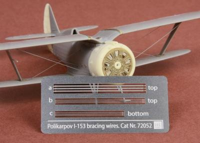 Polikarpov I-153 Chaika Rigging wire set