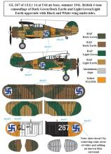 Gloster Gladiator in Finnish service WW II - 1.